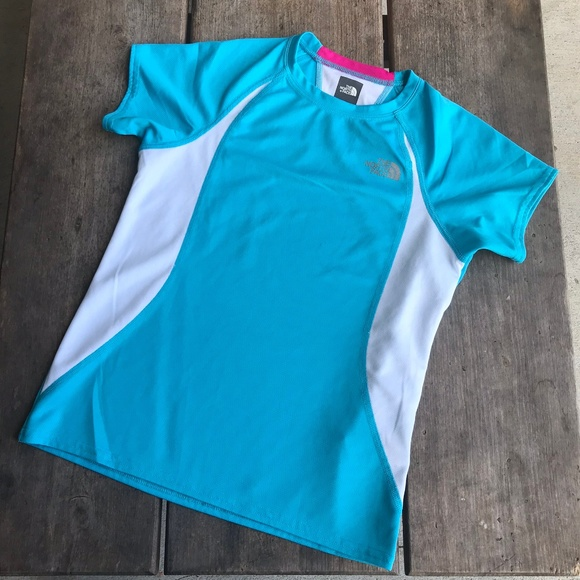 57514a006 The North Face Girls Activewear Top Blue M 10 12